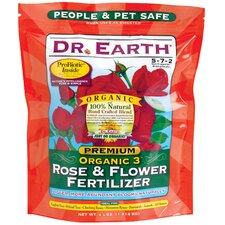 Organic Rose and Flower Fertilizer (4 Lbs)