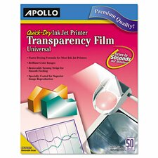 Quick Dry Transparency Film (Set of 50)