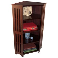 Corner CD DVD Storage Shelf Unit