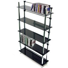 5 Tier DVD / CD / Media Storage Shelves