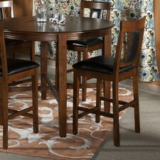 "Addison 24"" Counter Stool in Dark Brown"