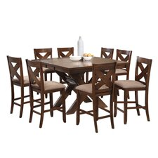 Kraven 9 Piece Counter Height Dining Set