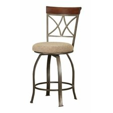 Cafe Hamilton Swivel Counter Stool in Cherry