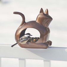 Enchanted Cat Bird Feeder