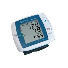 Clever Choice Fully Auto Digital Talking Wrist BP Monitor with 120 Memory