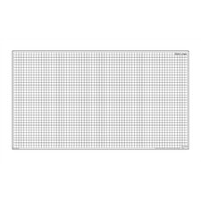 "Magnetic Dry-Erase Teaching Aides Mat - Grid Lines 40""H x 40""W x .1""D"