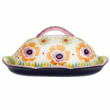 Flower Power Butter Dish