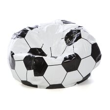 Child Soccerball Bean Bag Chair
