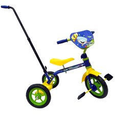 Space Chase Tricycle with Push Handle