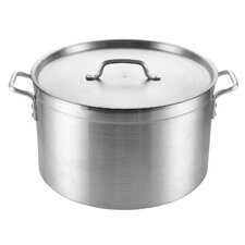 30-qt. Stock Pot with Lid