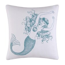 Cora Mermaid Cotton Accent Pillow