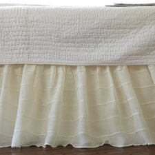 Tucked Linen Bed Skirt
