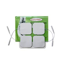 Pack of 4 Econo-Patch Electrodes in White Foam