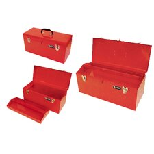 "20"" Portable Metal Tool Box"