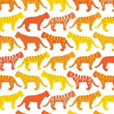 Animal - Tiger Pattern Stretched Wall Art