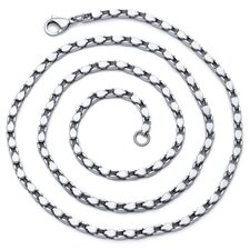 26 inch length Stainless Steel Fancy Design Mens Necklace