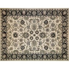 Maple Beige / Black Rug
