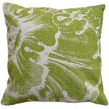 Rossette 100% Linen Screen Print Pillow