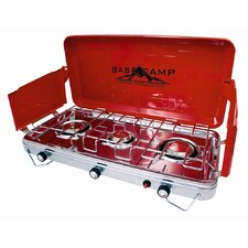 Deluxe Three Burner Outdoor Stove