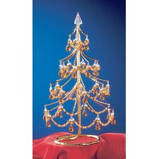 "Cheryls 1' 4"" Grapes Amber Artificial Christmas Tree"