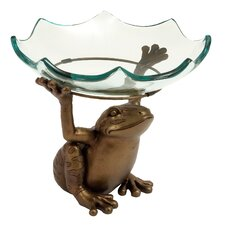 Frog Decorative Serving Bowl