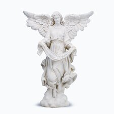 Ivory Angel Figurine