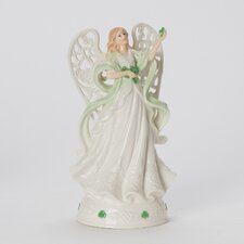 Celtic Angel Musical Figurine
