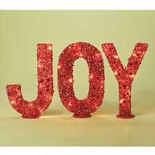 3 Piece Saint Red Joy Decorative