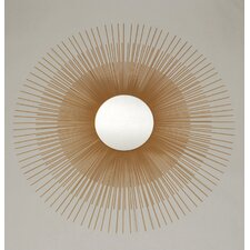 Gold Sunburst Mirror