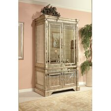 Borghese Mirrored Media Cabinet