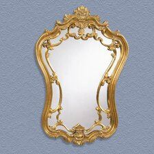 Hermosa Wall Mirror - Gold Leaf