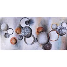 Industrial Bubbles Canvas