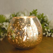 Champagne Ball Shaped Votive