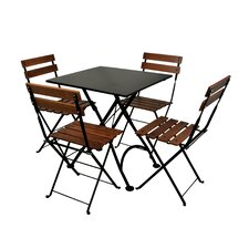 European Café Folding Table