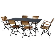 European Café 7 Piece Dining Set