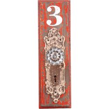 Doorknob #3 Wood Wall Hook