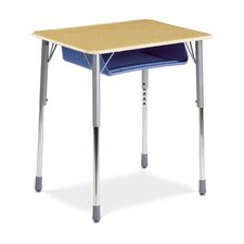 Zuma Plastic Rectangular Desk