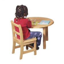 "12"" Hardwood Classroom Chair"