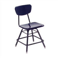 "3000 Series 21"" Plastic Classroom Glides Chair"
