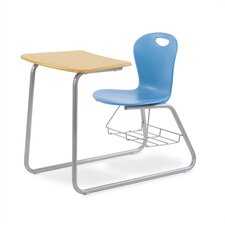 "Zuma 33"" Plastic Chair Desk"