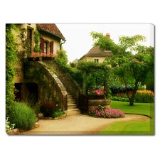 L'Escalier Outdoor Canvas Art