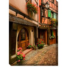 Cobblestone Way Outdoor Canvas Art