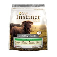 Instinct Grain-Free Limited Ingredient Diet Lamb Meal Dry Dog Food