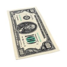 100 Dollar Bill Beach Towel