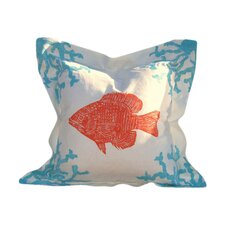 Coral and Fish Pillow