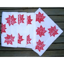 Poinsettia Dinner Napkin (Set of 4)