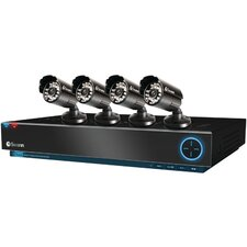 Trublue 4 Channel DVR wwith 4 Cameras