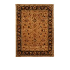 Tempest Camel/Dark Brown Rug