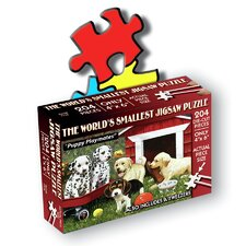 """Puppy Playmates"" World's Smallest Jigsaw Puzzle"