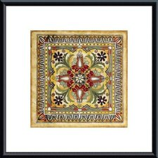 Italian Tile II by Ruth Franks Metal Framed Art Print